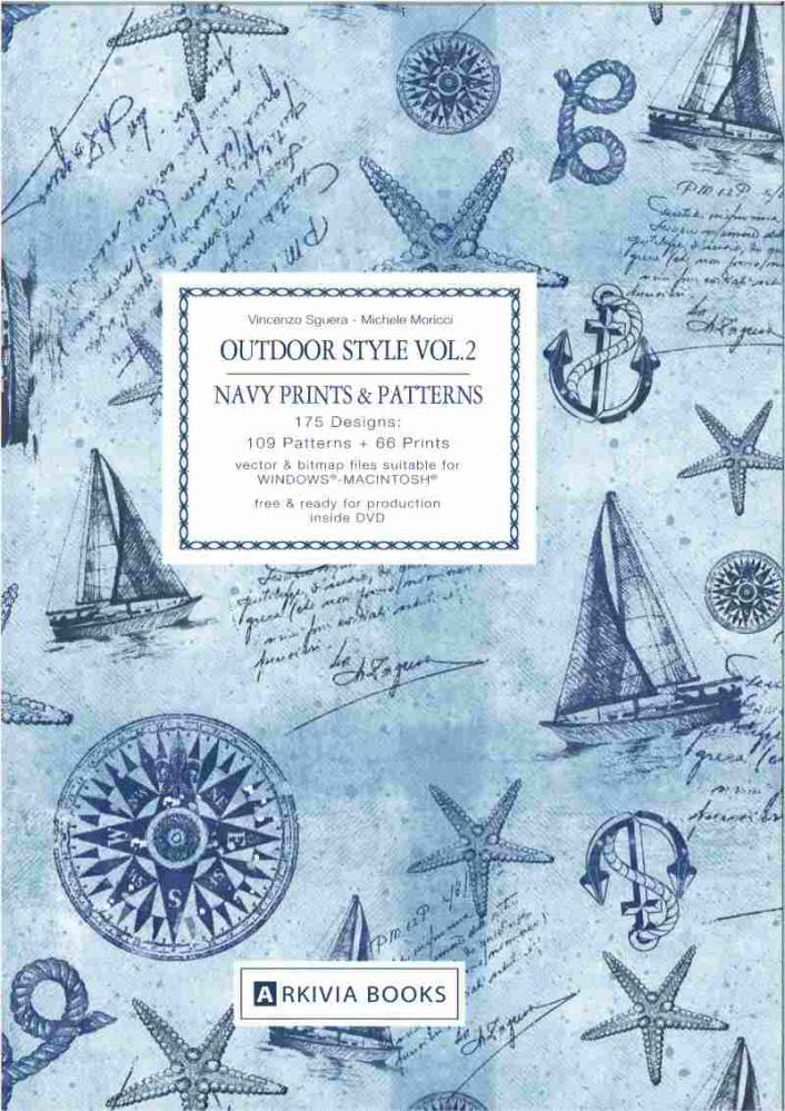 ARKIVIA+BOOKS+Outdoor+Style+Vol.2+navy+prints+%26amp%3B+patterns