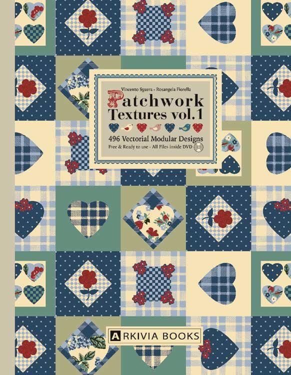 ARKIVIA BOOKS Patchwork Textures Vol 1