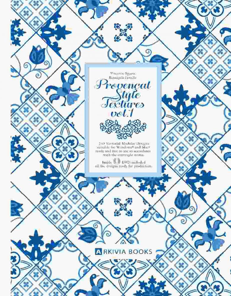 ARKIVIA+BOOKS+Provencal+Style+Textures+Vol.1