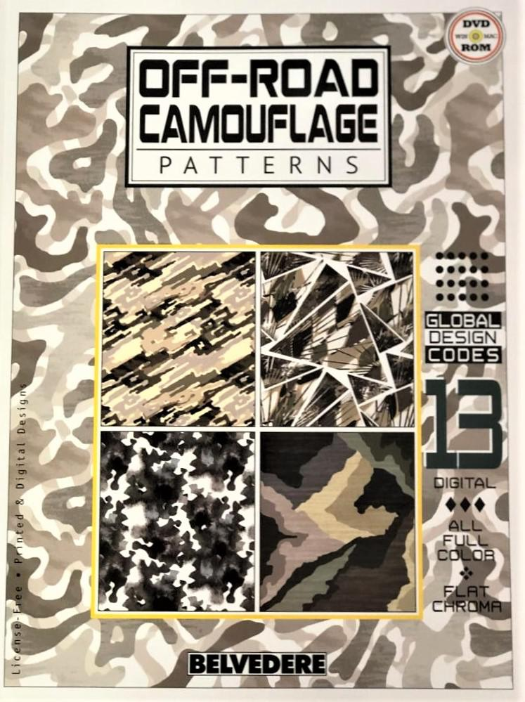 Belvedere+Off-Road+Camouflage+Patterns+DVD+incl.