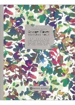 ARKIVIA+BOOKS+Grunge+Flower+Textures+Vol.1+%2B+dvd