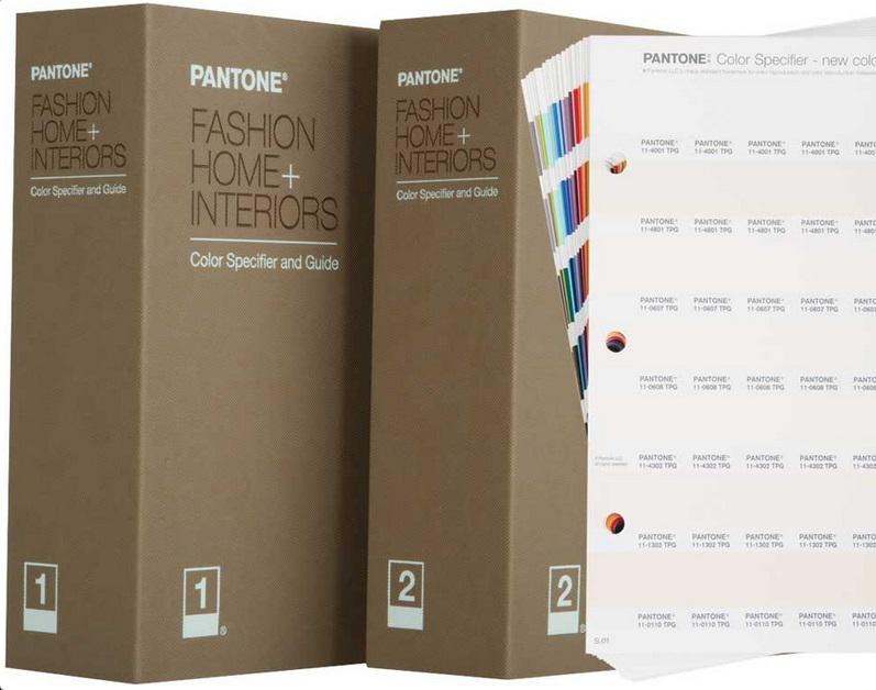 Pantone® Fashion Home + Interiors Color Specifier TPG Incl. 210 New Colors